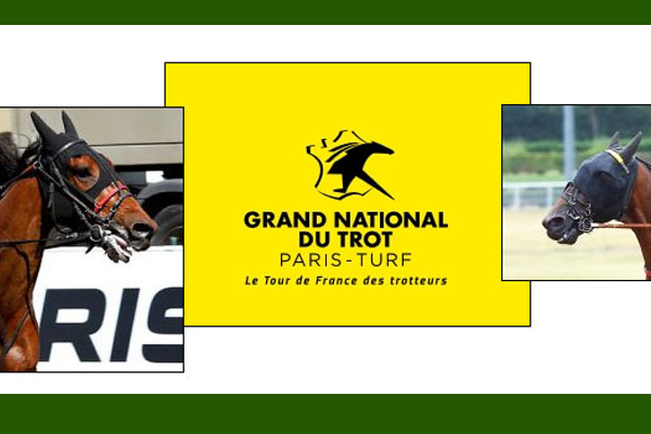 la photo de Ceylan dayrpet et Cleangame au Grand National du Trot
